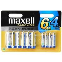 Maxell 麦克赛尔 5号7号碱性电池 10粒混合装