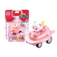 AULDEY 奥迪双钻 喜羊羊与灰太狼趣味飞轮惯性滑行车 3-6岁儿童玩具车礼物 美羊羊趣味飞轮车592120