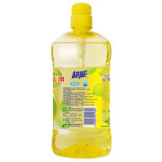 超能 离子去油洗洁精 1.5kg 柠檬香型