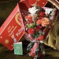 FlowerPlus 花加 圣诞高端款鲜花礼盒 伯利恒赞歌系列 玫瑰舞会