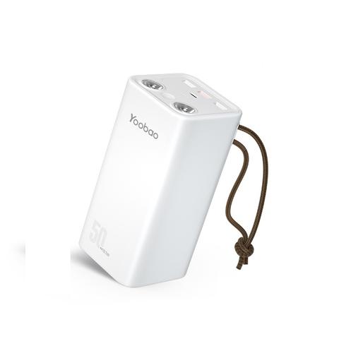 Yoobao 羽博 充电宝50000毫安大容量便携式快充手机平板通用移动电源适用于苹果iPhone12华为oppo小米1000000超大量