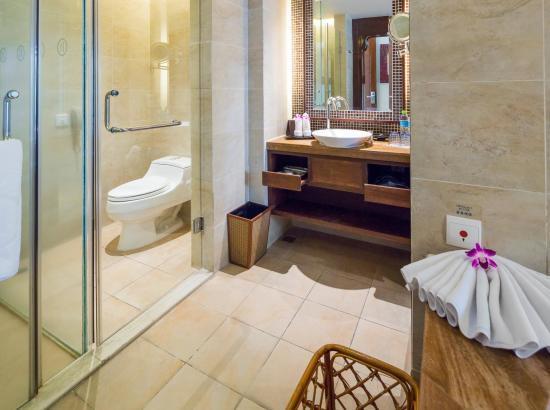 三亚亚龙湾铂尔曼酒店 豪华池景房1晚(含早餐)