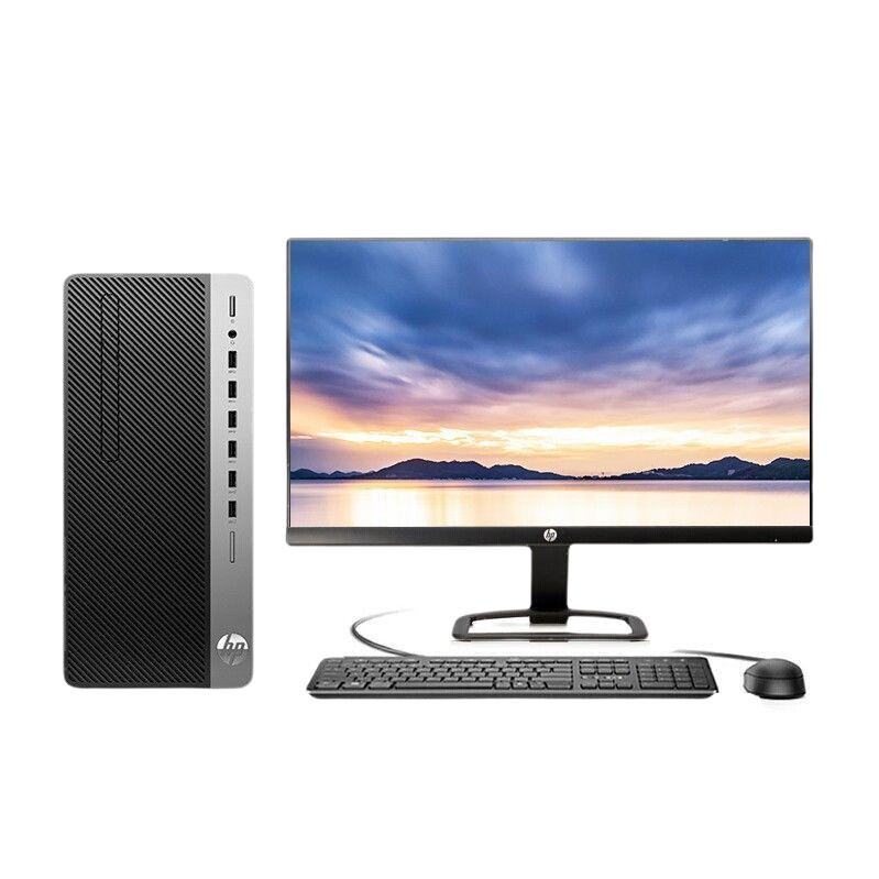 惠普(HP)战99  G2  商用办公台式电脑主机(十代i5-10500 8G 1TB 256G Win10 Office注册五年上门)23.8英寸