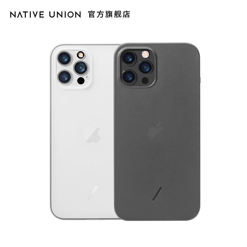 Native Union超薄mini半透明磨砂防摔全包适用苹果iPhone12ProMax