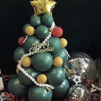 友忆诗 小红书圣诞树气球造型 10寸