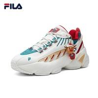 FILA 斐乐 F12W111225F 圣诞节配色 女款运动鞋