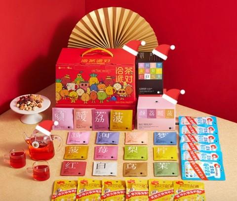 Teapotea 茶小壶  国潮洽茶派对礼盒 390g