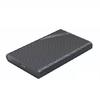 奥睿科(ORICO)移动硬盘盒2.5英寸USB3.0SATA串口笔记本台式外置壳固态机械ssd硬盘盒 【USB3.0】黑色