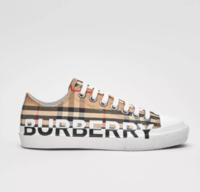 BURBERRY 博柏利 Vintage系列 中性运动帆布鞋 80243011 典藏米色 38