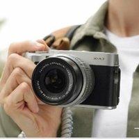 富士(FUJIFILM)x-a7/xa7复古微单反数码相机 XA5升级款 自拍美颜照相机 XA7经典银 XC15-45mm镜头套机