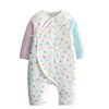 gb 好孩子 婴儿纯棉和尚服系带套装 MN20130003 浅粉