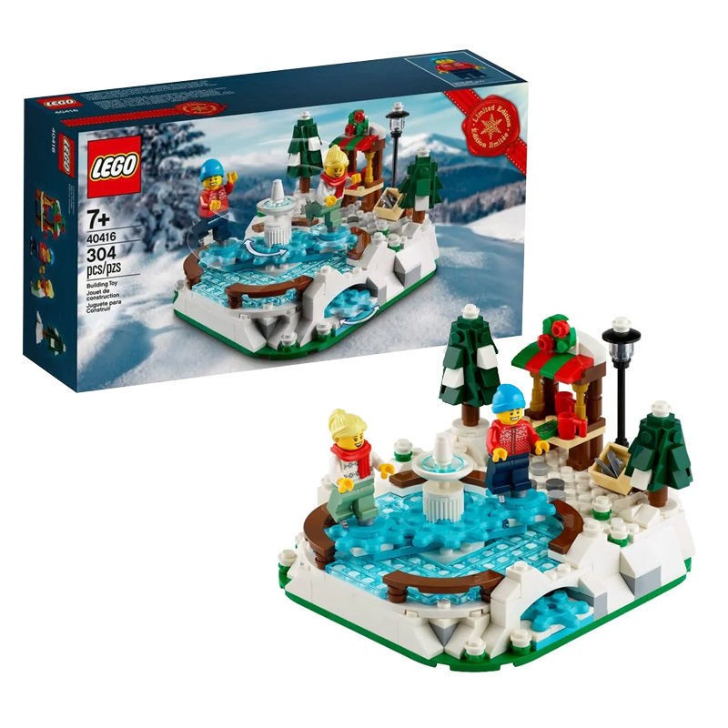 LEGO 乐高 城市系列 40416 冬季溜冰场