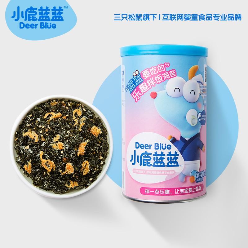 小鹿蓝蓝 肉松海苔拌饭碎 40g