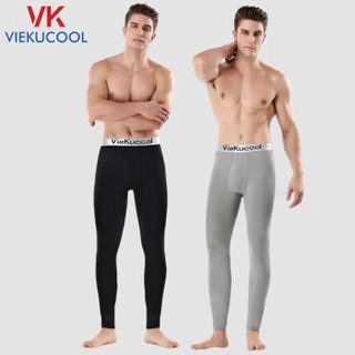 移动专享 : VIEKUCOOL 男士加绒秋裤 一条装