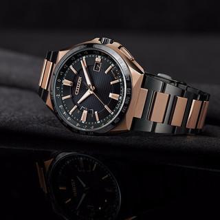 CITIZEN 西铁城 光动能腕表系列 CB021 男士电波手表