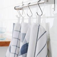 ELLY艾利廚房用巾-白色/藍色50x65厘米
