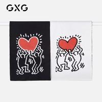 GXG×KH联名款 情侣款保暖加厚围巾 13B153001K