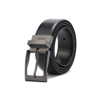 唯品尖货:Calvin Klein 卡尔文·克莱 297323496PPK9-BBR 男士商务皮革针扣腰带皮带