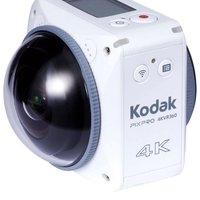 Kodak PIXPRO VR 360 度 4K 数码相机 - 白色