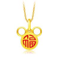 周大福 R24745 迪士尼系列黄金吊坠