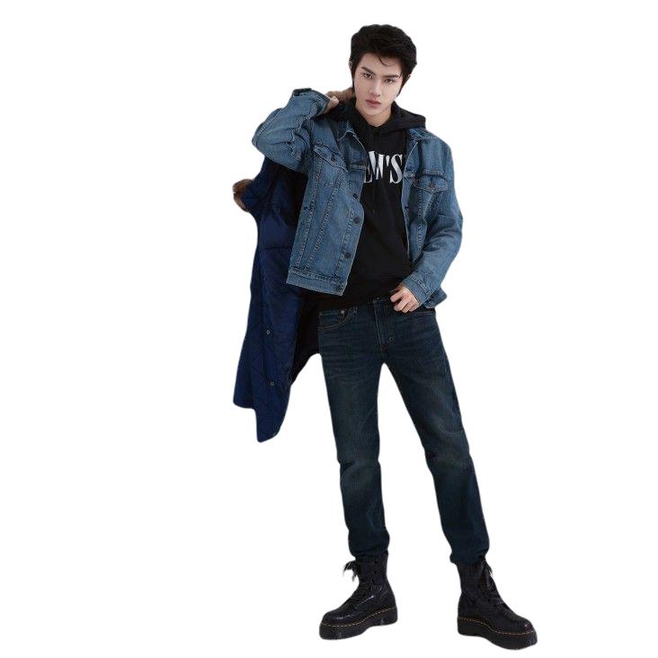 Levi's 李维斯 男士牛仔长裤 藏蓝色 28