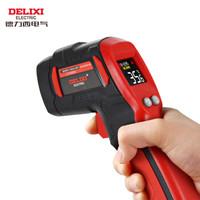 德力西电气(DELIXI ELECTRIC)红外线测温仪工业级高精度测温枪彩屏数显手持式工业级温度计 多点