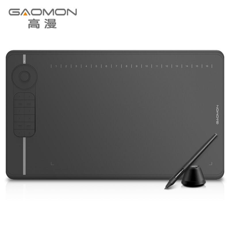 高漫M6數位板可連接手機手繪板 電腦繪圖板電子繪畫板智能手寫板