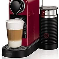 NESPRESSO by Krups XN760540 Citiz and Milk Coffee Machine, 1710 Watt, Red