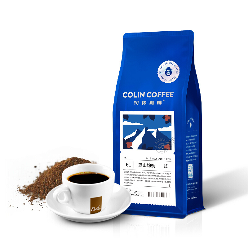 Colin 柯林咖啡 蓝山风味咖啡粉 250g *5件