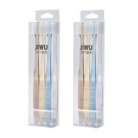 JIWU 苏宁极物 手工牙刷 4支*2盒