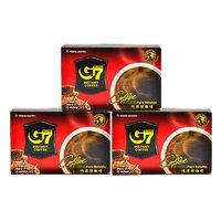 G7 COFFEE 中原咖啡 中烘 速溶黑咖啡粉 原味 盒装