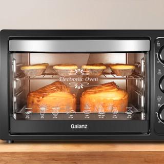 Galanz 格兰仕 KWS1530X-H7R 多功能电烤箱 30L 黑色