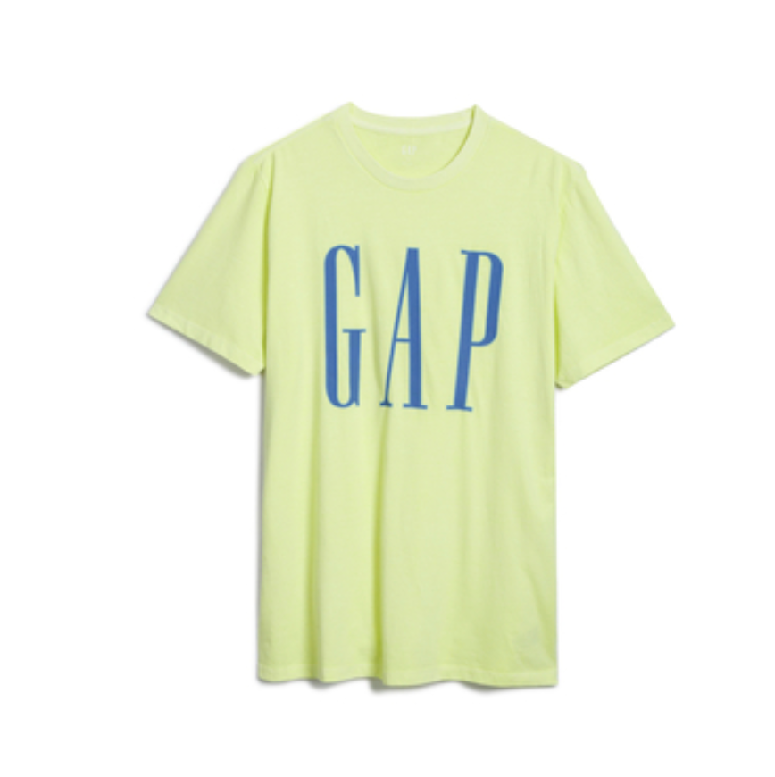 Gap 盖璞 男士纯棉宽松圆领短袖T恤579595