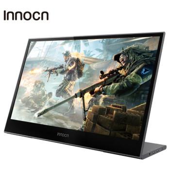 INNOCN 15.6英寸4K触摸便携式显示器 设计师专业级外接屏幕微单反摄像机手机电脑一线直连扩展监视器 N1U PRO