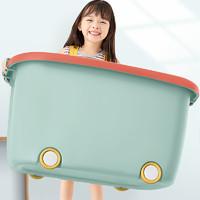 佳帮手儿童玩具收纳箱筐家用储物盒塑料盒子宝宝衣服幼儿园装整理