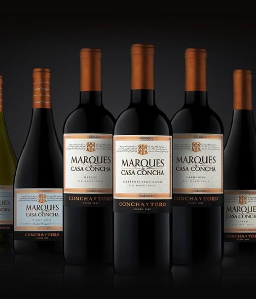 智利原瓶进口红酒 干露侯爵红葡萄酒 750ml*单瓶装 赤霞珠