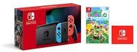 Nintendo任天堂 Switch 游戏家庭主机 续航升级版日版+《动物之森》