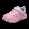 SKECHERS 斯凯奇 GIRLS系列 女童魔术贴防滑运动鞋 82173N 粉红色/青绿色 26码(内长16cm)
