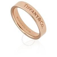 银联爆品日:TIFFANY & Co 蒂芙尼 18K 玫瑰金戒指