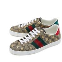 限尺码、银联爆品日:Gucci New Ace男士棕色运动鞋
