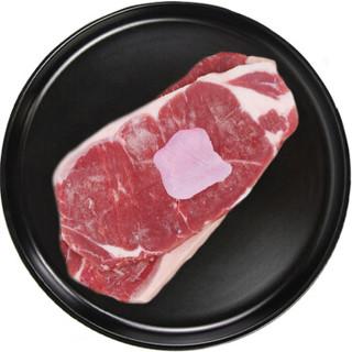 恒都 国产原切西冷牛排 500g/盒(3-4片)