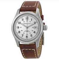 银联爆品日:HAMILTON 汉米尔顿 H70455553  Field 全自动 银表盘 男士手表