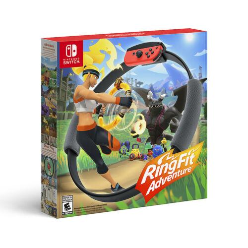 Nintendo 任天堂 Ring Fit Adventure 健身环大冒险 健身游戏 *2件