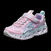 SKECHERS 斯凯奇 LIGHTED系列 女童魔术贴休闲运动闪灯鞋 20180L 樱桃粉色 30码(内长19cm)