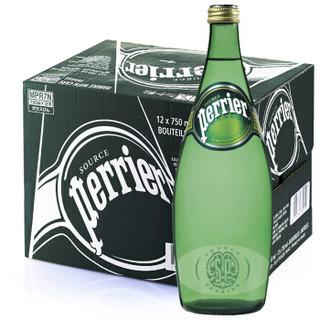 Perrier 巴黎水 原味气泡水 750ml*12瓶 *3件