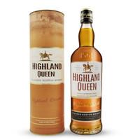 京东PLUS会员:HIGHLAND QUEEN 高地女王 调和威士忌  700ml *3件