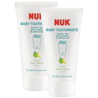 NUK 儿童温和水果味牙膏 2只