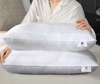 FUANNA 富安娜 家纺枕芯  枕头成人全棉纯棉软 74*48 纯棉枕芯(高约15cm)