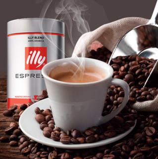 illy 意利 中烘 咖啡粉 意式风味 250g*3罐