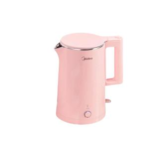 Midea 美的 美的(Midea)电水壶热水壶恒温电热水壶304不锈钢智能断电暖水壶烧水壶开水壶70度保温E516